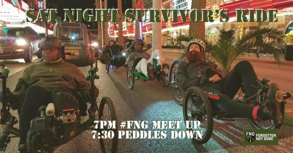 Saturday Night Survivor's Ride