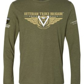 Veteran Trike Brigade Long Sleeve Shirt